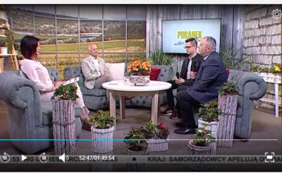 """Laureat konkursu w TVP """"Lider wiedzy i ochrony środowiska"""""""